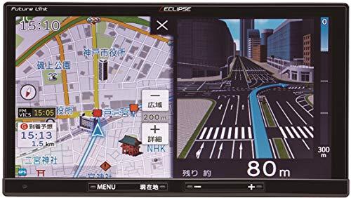 デンソーテン カーナビ ECLIPSE Rシリーズ AVN-R9 7型 トヨタマップマスター地図搭載 地図無料更新/フルセ...