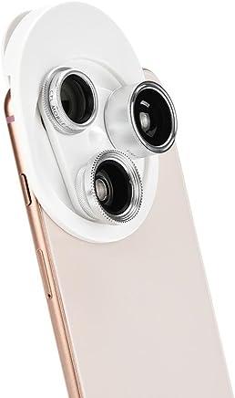 MChoice Mobile Phone Camera Lens 0.63X Wide Angle 15X Macro Lens Polarizer