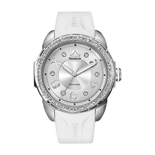 Reebok Damen Analog Quarz Uhr mit Silikon Armband RD-IMS-L2-S1IW-11