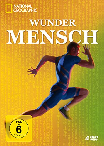 Wunder Mensch - National Geographic [4 DVDs]