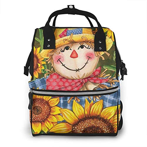 nbvncvbnbv Bolsa de pañales Happy Egg Sunflowers