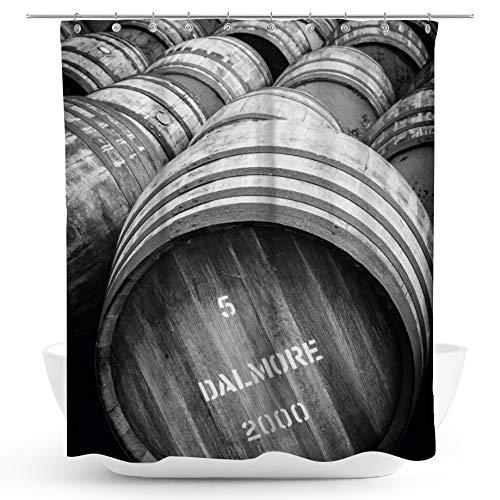 fotobar!style Duschvorhang 175 x 200 cm EIN Motiv aus dem Kalender Schottischer Whisky - Terminplaner/CH-Version