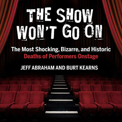 The Show Won't Go On audiobook cover art