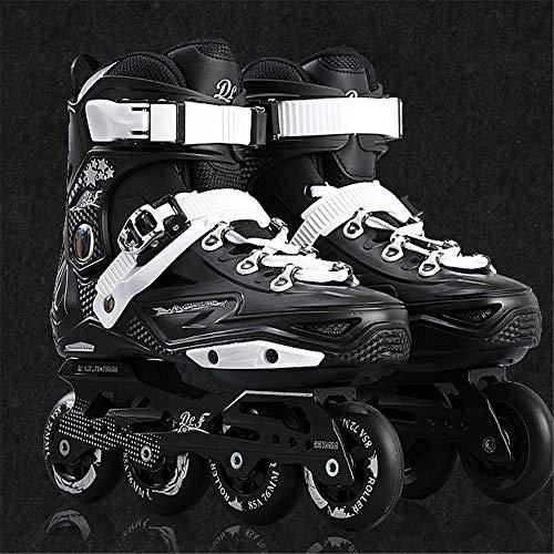Dynamische Wind Freestyle Geschwindigkeit Slalom Inline Skates, PP-Material ABEC-11 Lager, Anfänger Sicher Und Langlebig Roller Schuhe,B,37
