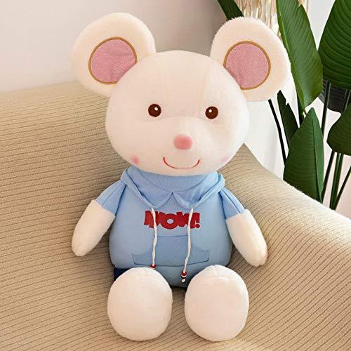 Pluche Cute Hug Big Mouse Knuffel Rat Doll Ragdoll-Blue_50cm