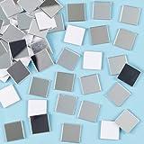 Baker Ross- Espejos autoadhesivos para mosaicos (Pack de 100)- Para decorar tarjetas infantiles, manualidades con mosaicos y collages