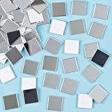 Baker Ross EF548 Azulejos de Espejo Autoadhesivos de Mosaico, 13 mm x 13 mm,...