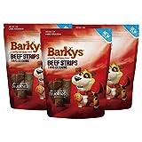 BARKYS Beef Jerky Strips/Tiras de Carne, 3 Pack, 100g