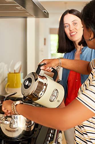 Russell Hobbs Retro Vintage Cream 21672-70 Wasserkocher (2400 W, 1.7 l, mit stylischer Wassertemperaturanzeige, Schnellkochfunktion) creme - 7