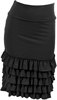 Bring On The Frill Half Slip Skirt Extender - Ruffle Skirt Extender - Skirt Extenders for Women
