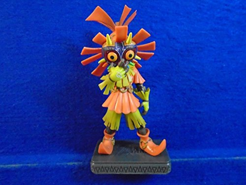 (Original Verpackung) Legend of Zelda Maiora \'s Mask Skull Kid Statue