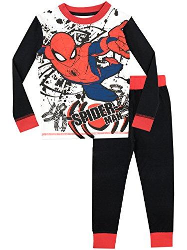Spiderman Pijama para Niños El Hombre Araña Ajuste Ceñido