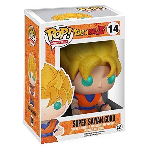 Dragon Ball Z Funko Pop Vinyl Figure - Glow in The Dark Super Saiyan Goku