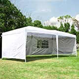 Best Beach Canopies For Parties - CharaVector 10 x 20 ft Heavy Duty Pop Review