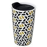Best Ceramic Travel Mugs - Ceramic Travel Mug - Double Wall Insulated Tumbler Review