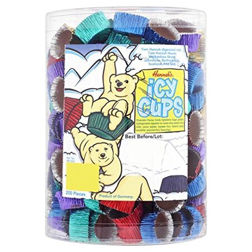 Chocolade Icy Cups Groothandel Pick n Mix Bruiloft Kerstmis RETRO snoepjes & KANDY, Retail Box (200)