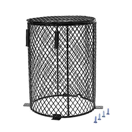 Yanhonin - Protector de calentador de reptil, altavoz de lámpara calefactora de malla metálica para proteger la jaula (2#)
