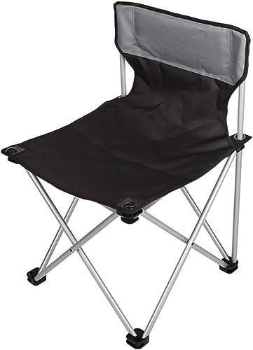 Chaise Pliante en Plein air Chaise de Camping portable Chaise de Plage Tabouret de pêche Chaise en Alliage d'aluminium Chaise de Croquis