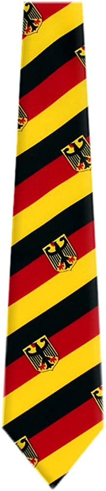 Buy Beauty products Your Ties FLAG-315 - German Max 40% OFF Necktie Yellow Flag Black Mens