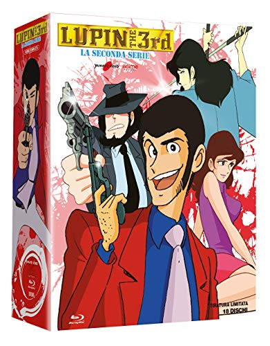 Lupin III - La Seconda Serie Completa-Esclusiva Amazon (18 Blu-Ray) (Box Set) (18 Blu Ray)