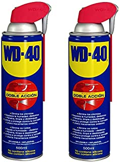 Wd 40 500002 Lubricante Wd40 Doble Acción 500Ml-Pack 2 Unidades