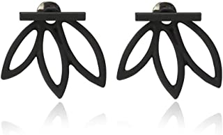 Lotus Stud Earrings Stud Flower Earrings Jewelry Korean Earring for Women and Girls