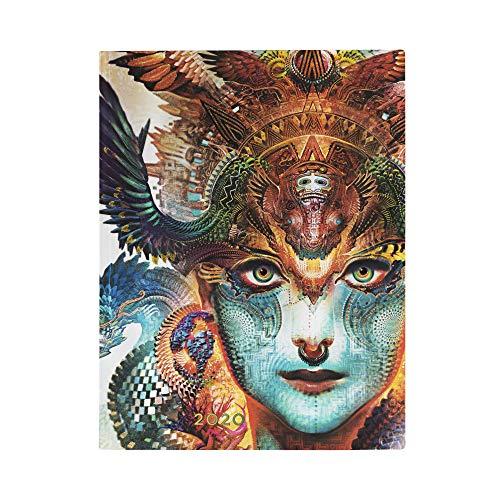 Paperblanks 12 Monate Softcover Flexis-Kalender 2020 Dharma-Drache   Vertikal   Ultra (180 × 230 mm)