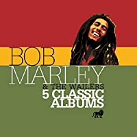 5 Classic Albums by BOB & THE WAILERS MARLEY