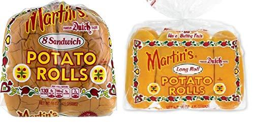 Martin's Potato Sandwich and Long Rolls - 2 Pack