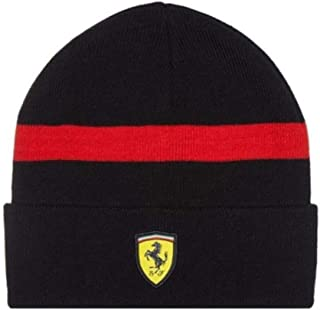 Scuderia Ferrari Formula 1 Black Knitted Beanie