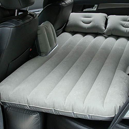 Sinbide Auto Materasso Gonfiabile per Il Sedile Posteriore Auto con Air Pump (Grigio)