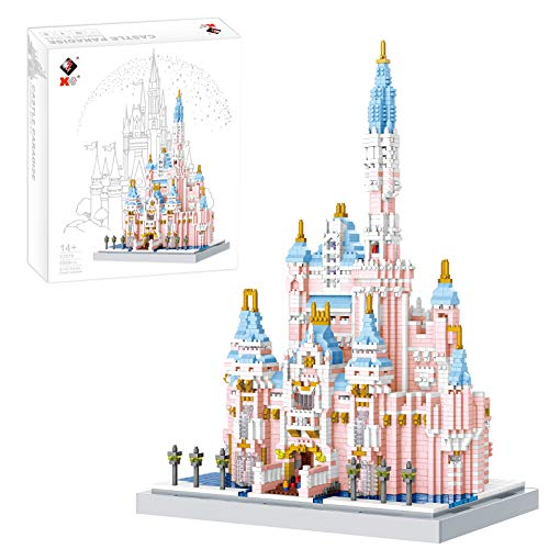 FADY Schloss Bauset, Modular Haus Kompatibel mit Lego Technik - 4888 Teile