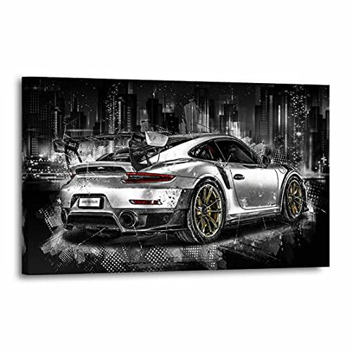 Kunstgestalten24 Leinwandbild Porsche GT...