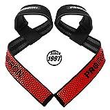 PROIRON Cinghie Sollevamento Pesi, Fasce Polsi Palestra, Cinghie Professionali con Imbottitura Avanzata ed Impugnature di Gel Flessibile, Weight Lifting Straps Powerlifting Bodybuilding Fitness
