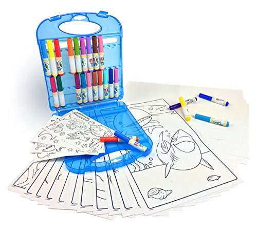 Crayola Color Wonder Mess Free Coloring Kit, Gift for Kids, 3, 4, 5, 6