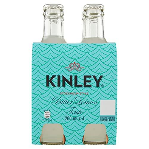 Kinley Acqua Tonica Bitter Lemon, 4 x 200ml