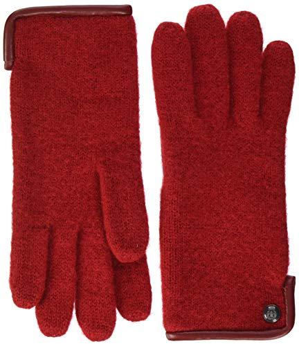 Roeckl Damen Klassischer Walkhandschuh Handschuhe, Rot (Red 450), 7
