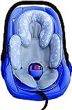 Soleilx Universal-Kinderwagenverkleinerer mit Panda-Motiv im Raum ideal als Sitzverkleinerer für Babyschale oder Babyschale geeignet für Autositz atmungsaktiv schweißfest Sommer Winter