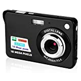 Digital Cameras,Mini Camera Camcorder Point and Shoot Camera 2.7inch 18MP 8x Digital Zoom