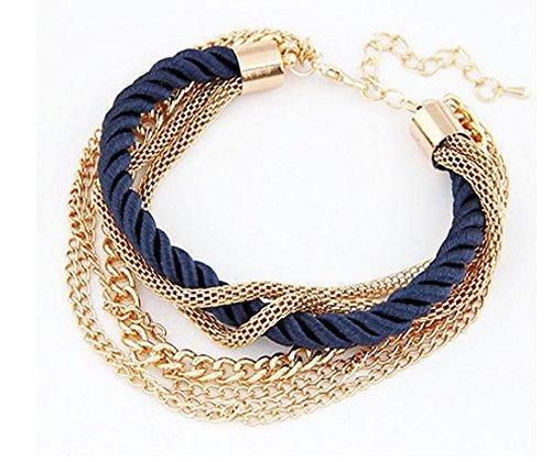 Punto-pulsera oro cadenas