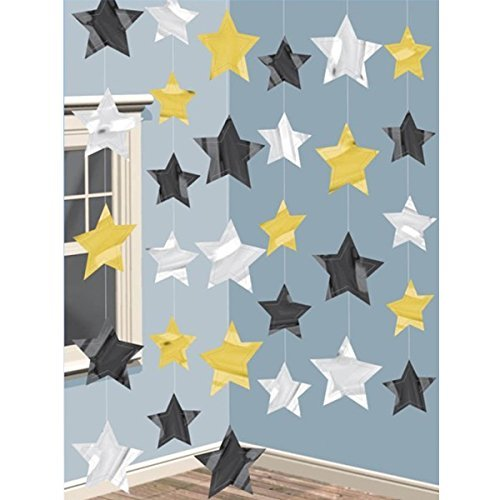 PAM String Decorations Hollywood Stars by