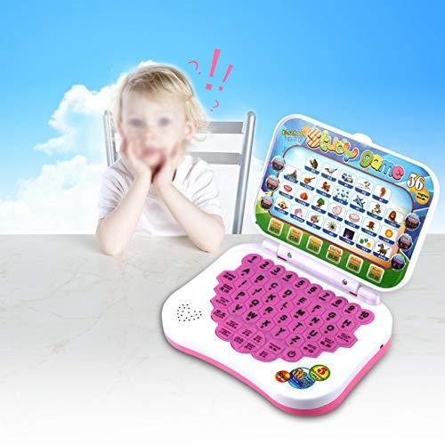 FOLOSAFENAR Portátil de Aprendizaje Duradero para bebés Portátil para bebés Aprendizaje de melodías Musicales y Juegos para bebés y niños