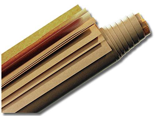 Nobo 1901319 Moderationspapier (50 Stück, 1180 x 1400 mm) braun