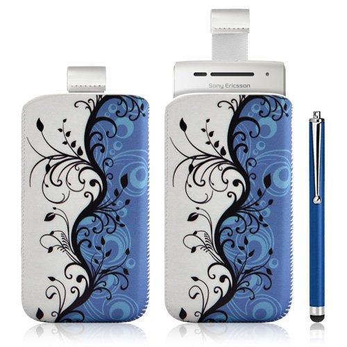 MTA–Funda con Tirador para Sony Ericsson Xperia X8con diseño + lápiz Luxe