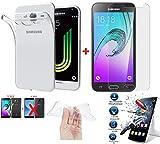 Funda de cristal templado para iPhone (iPhone X, iPhone 7, iPhone 8, iPhone 6, iPhone 6 Plus, iPhone 5, iPhone 4), Huawei (P20, P20 Lite, P8 Lite 2017) Samsung (Samsung A8 2018, J3 y Grand)