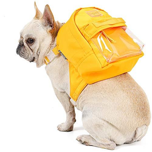 ETOPARS Mochila de Uno Mismo del Perro Moda, Arnés para Mascotas Pequeñas, Mochila Mini Portador Bolsa Alforjas Puppy Bag, Correa de Pecho para Cachorros de Gato, Bolsa de Viaje para Perros