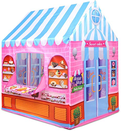 Kiddie Play Tent for Kids Candy Playhouse Boys & Girls Indoor Outdoor Toy