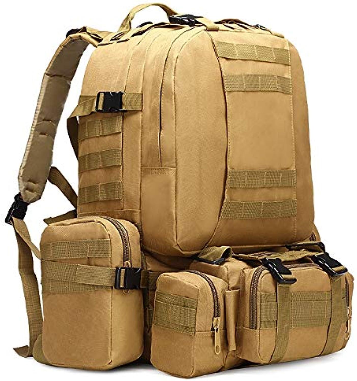 Inveroo 50l Taktischer Rucksack 4 In 1 Military Bags Army Rucksack Rucksack Rucksack Molle Outdoor Sport Tasche Mnner Camping Wanderreise Klettern Taschen