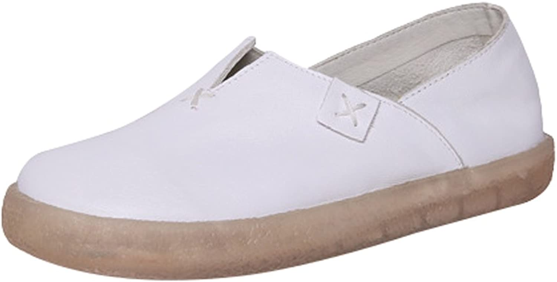 Minibee Women's Walking Travel Loafer Flat Slip-On Casual shoes