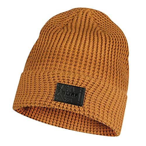 Buff 120843.337.10.00 Knitted Hat KIRILL Camel Unisex-Adult, no